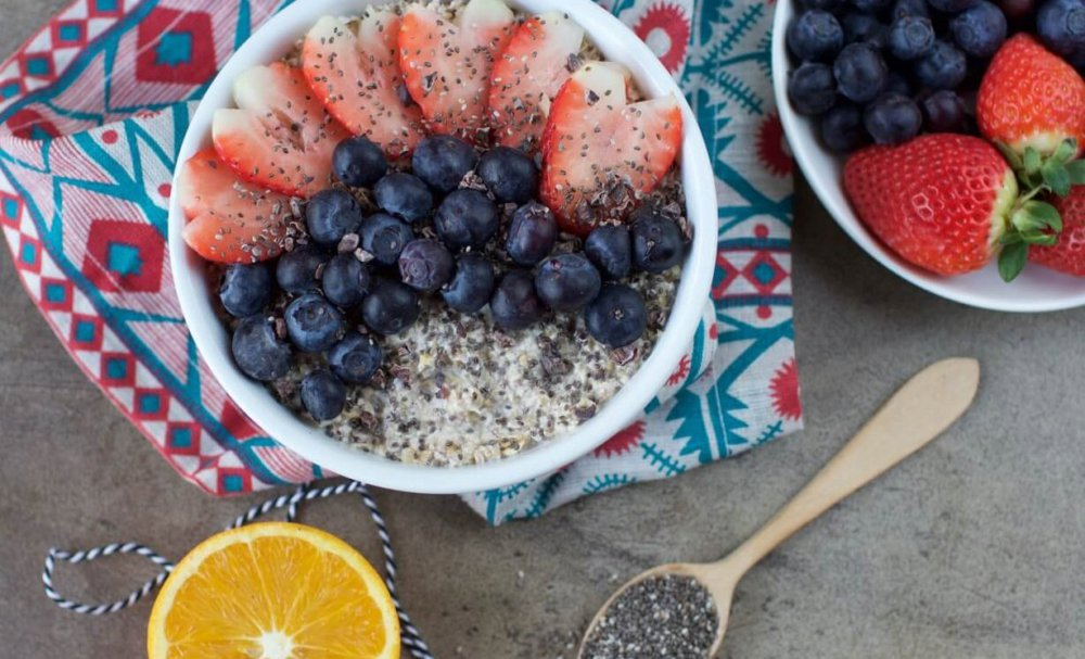 Easy Overnight Oats With Chia