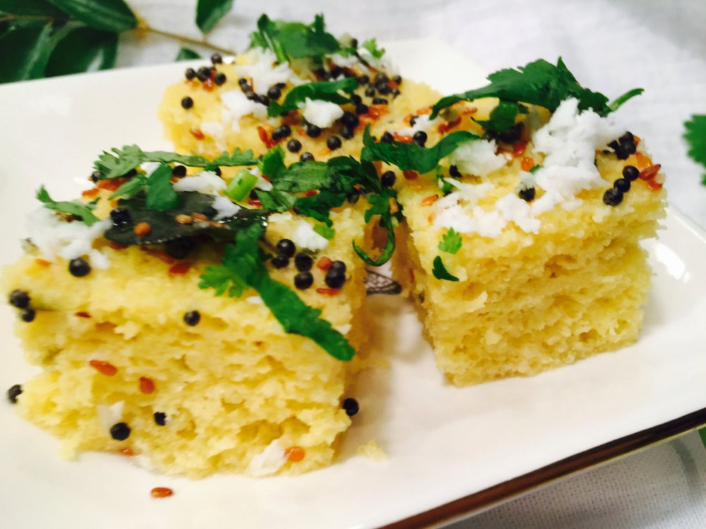 Instant Khaman Dhokla with Tips/Tricks for Soft,Spongy Dhokla