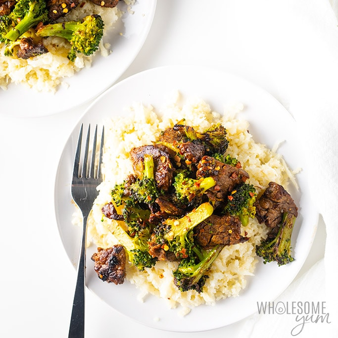Easy Paleo Keto Beef and Broccoli Stir Fry Recipe