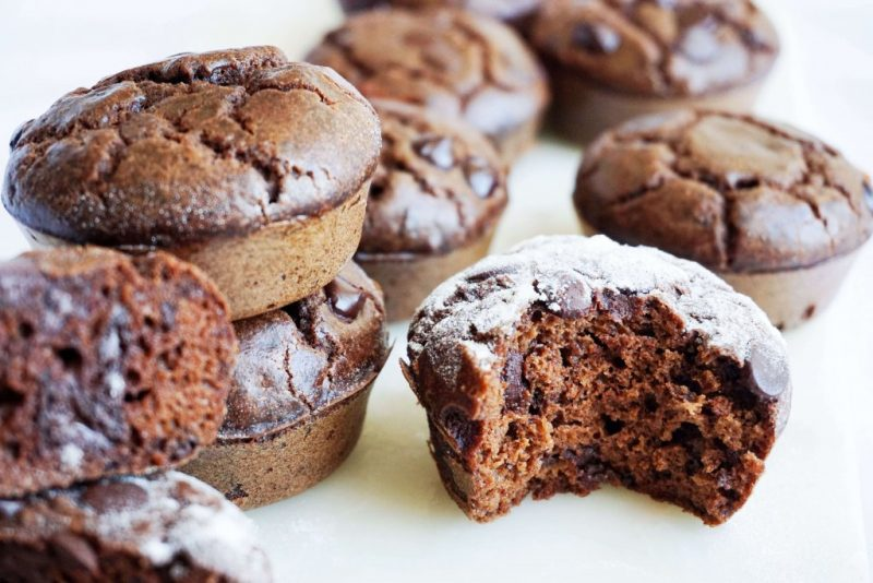 Low Carb Chocolate Muffins