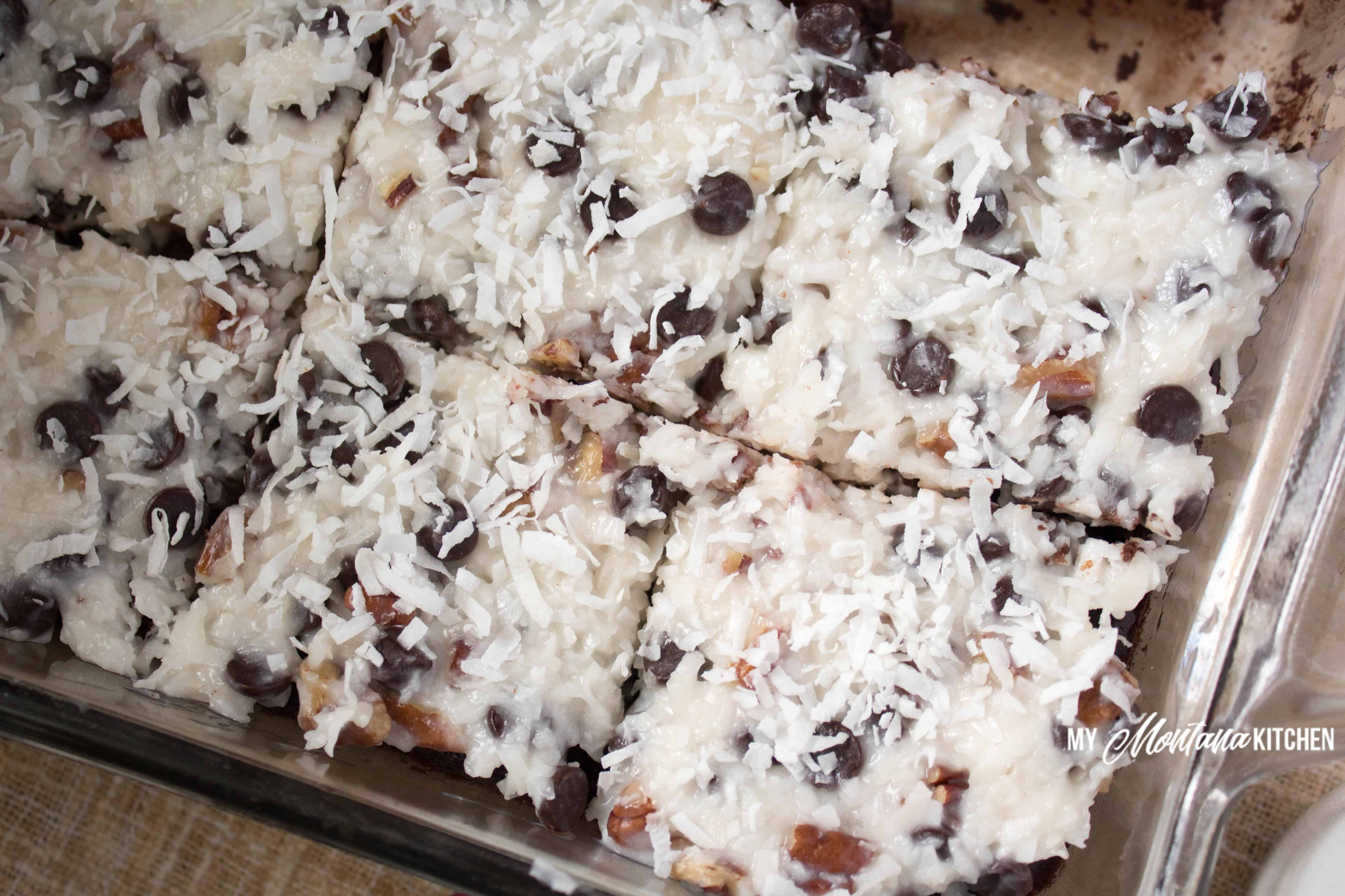 Low Carb Chocolate Coconut Cake