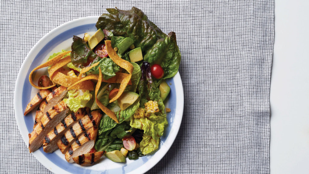 Barbecued-Chicken Salad