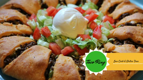 "Taco Roll:  Low Carb, Gluten Free, Grain Free & THM ""S"" Friendly"