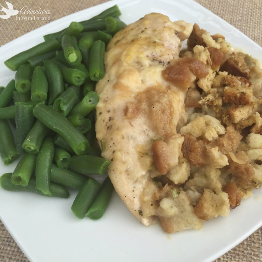 Best Ever Crock Pot Chicken and Stuffing