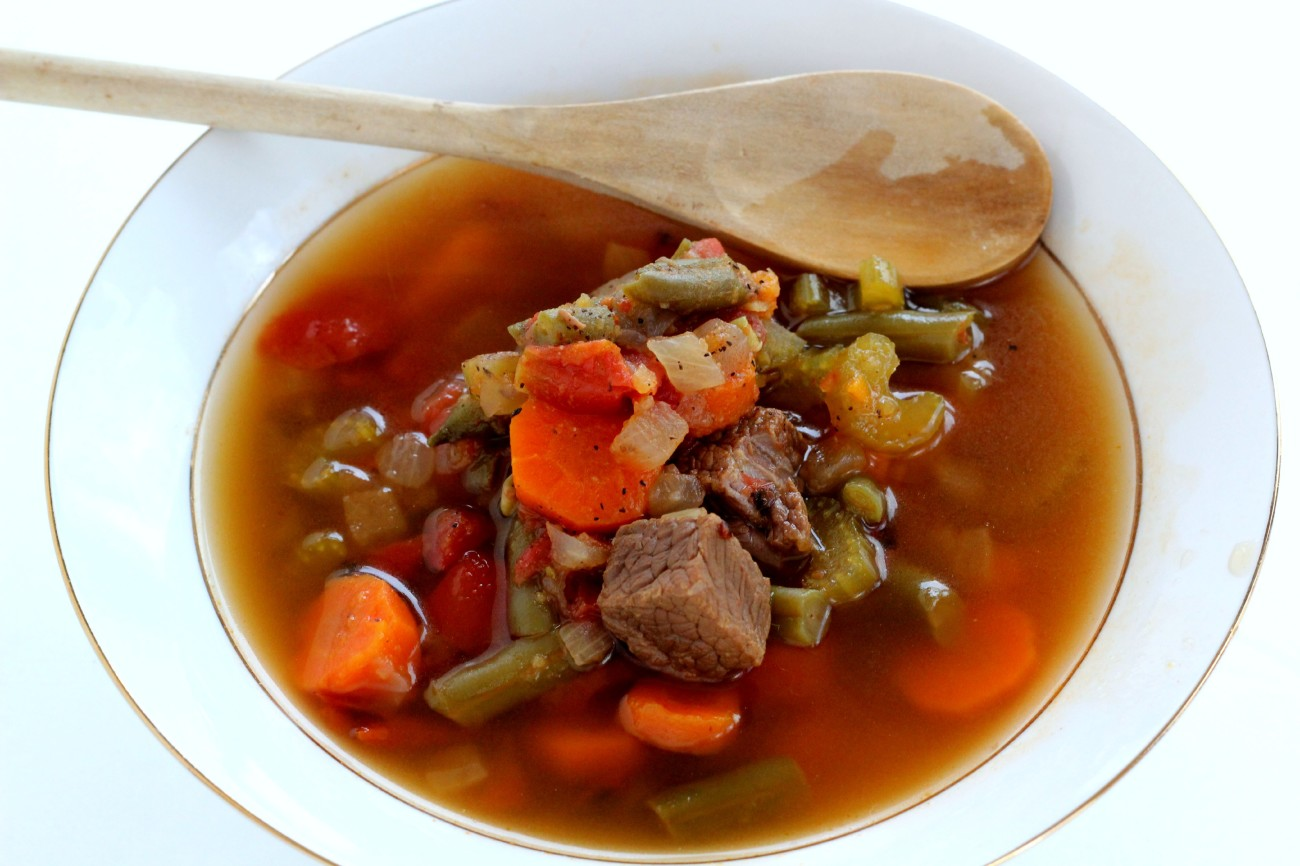 Paleo Vegetable Beef Soup