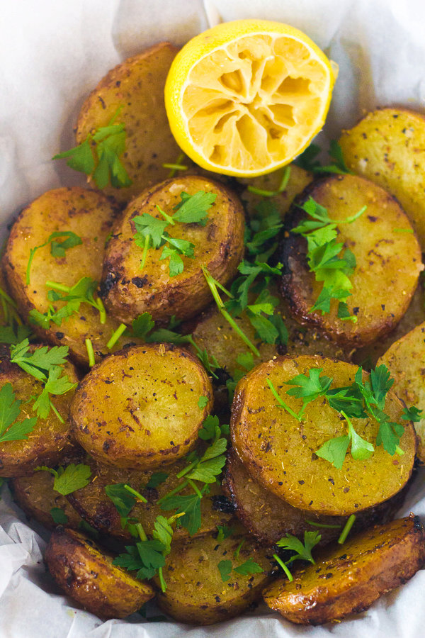 Greek Lemon Potatoes