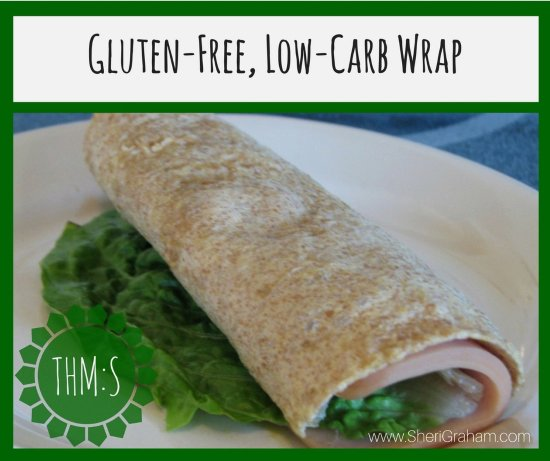 Homemade Gluten-Free, Low-Carb Wrap (THM:S)