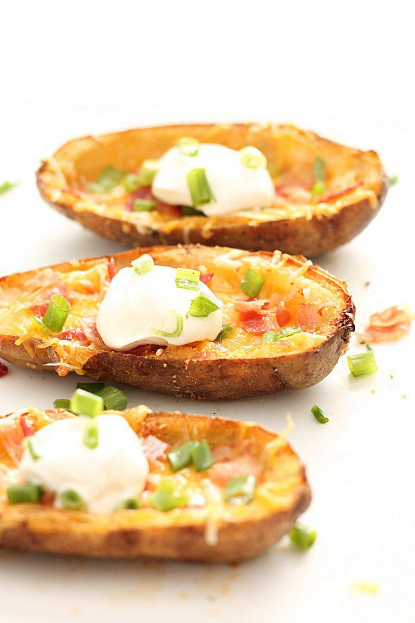 Loaded Baked Potato Skins