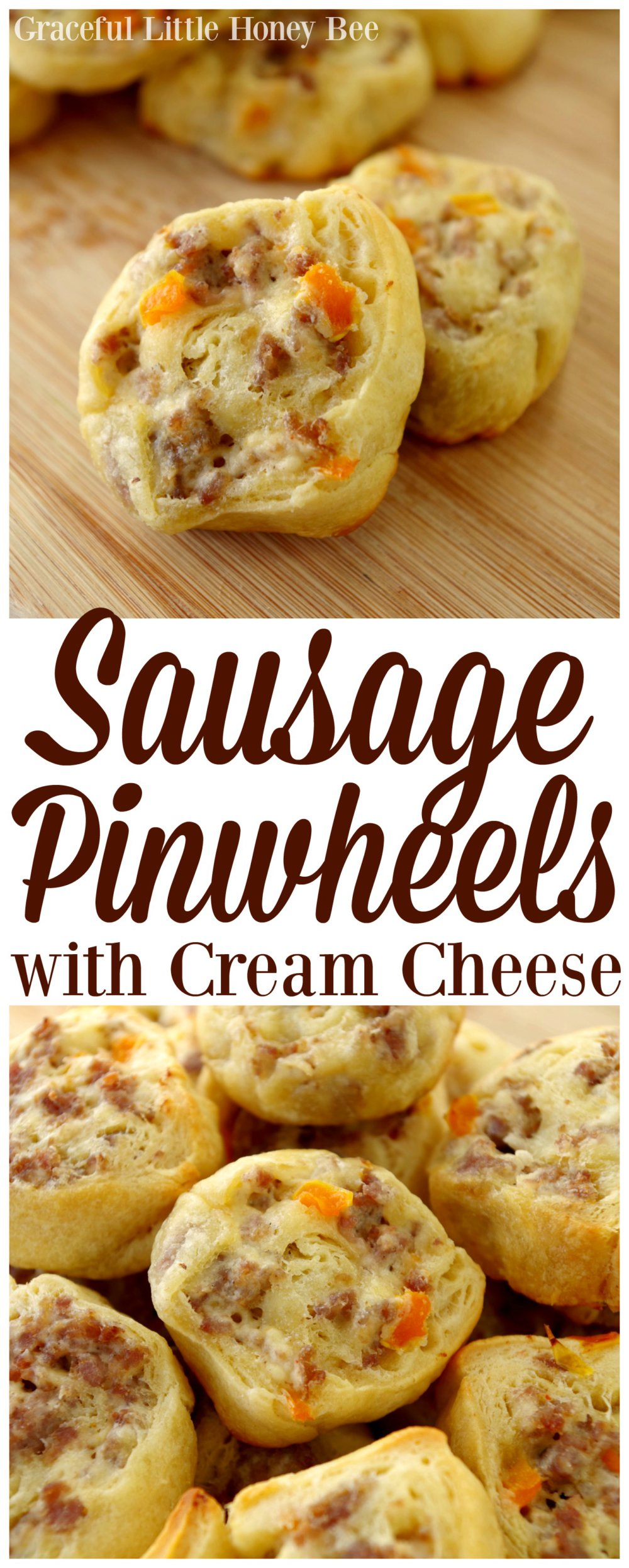 Sausage Pinwheels with Cream Cheese