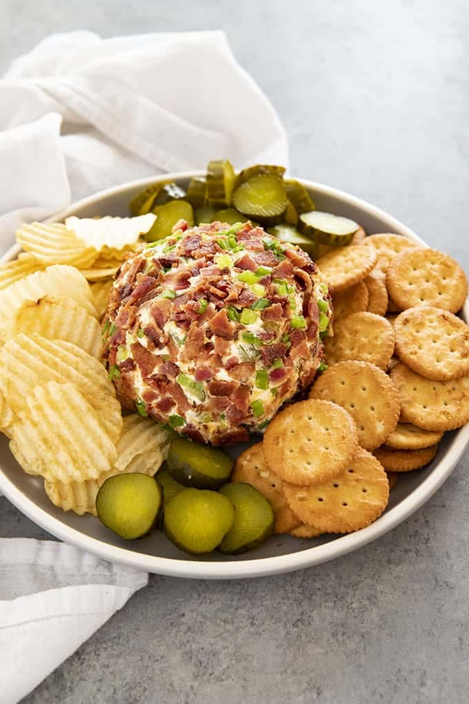 Dill Pickle Bacon Cheese Ball