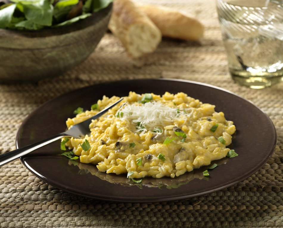 Butternut Squash and Cheddar Risotto