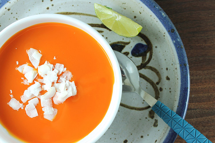 Curried Carrot and Ginger Soup Recipe