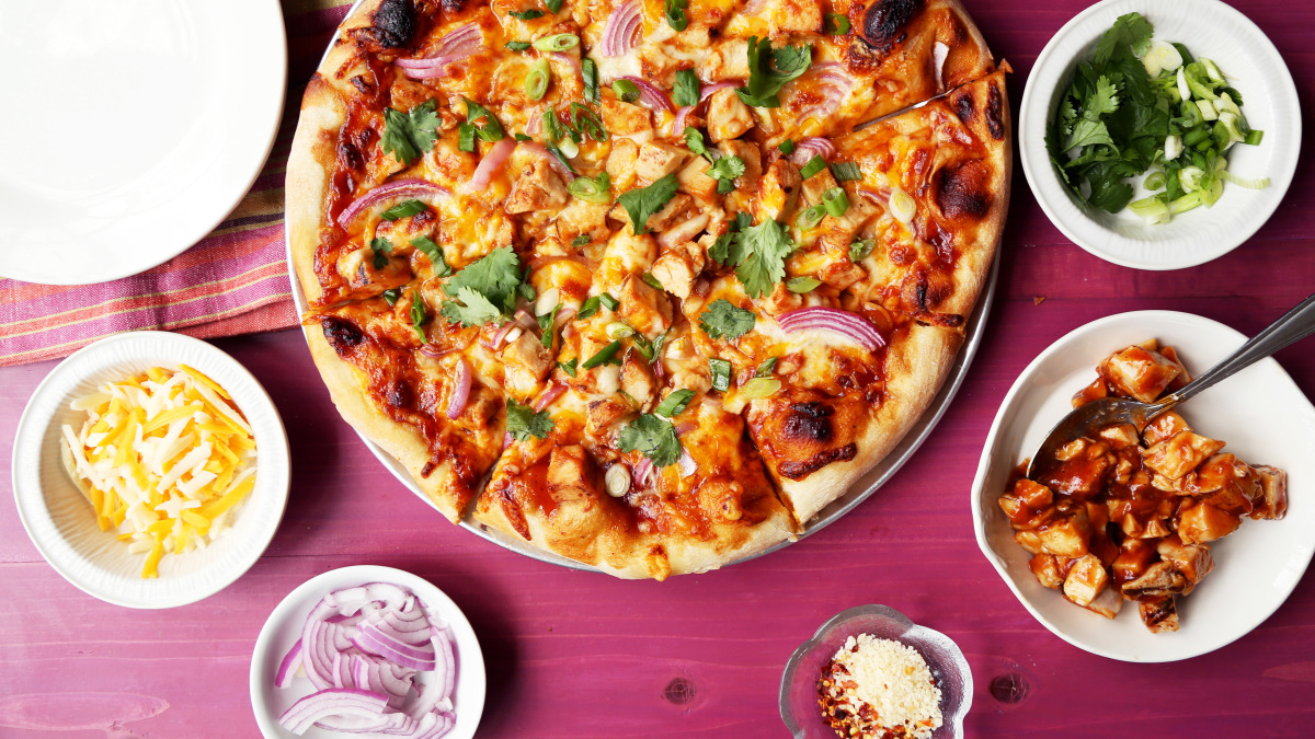 BBQ Chicken Pizza - California Pizza Kitchen Style