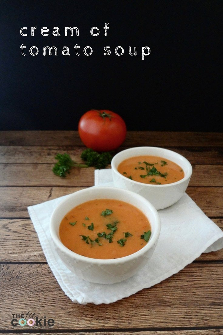 Cream of Tomato Soup (low-FODMAP & Vegan)