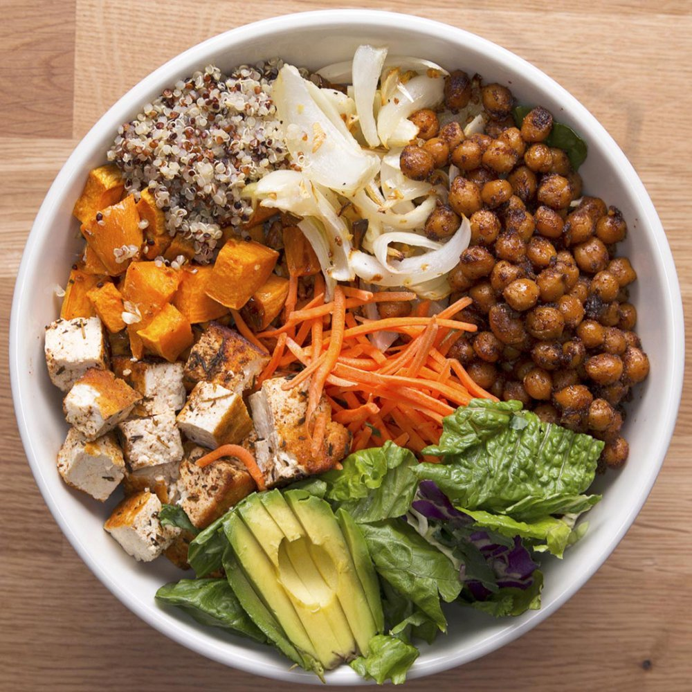 Protein-Packed Buddha Bowl Recipe by Tasty