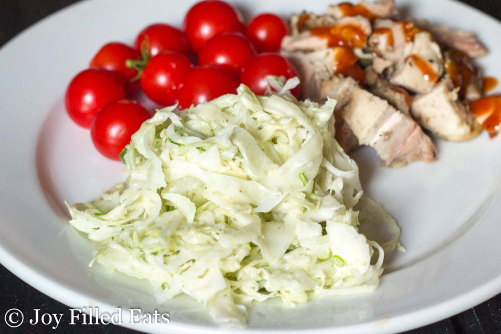 Easy Fennel Coleslaw – Low Carb, Grain Free, THM S