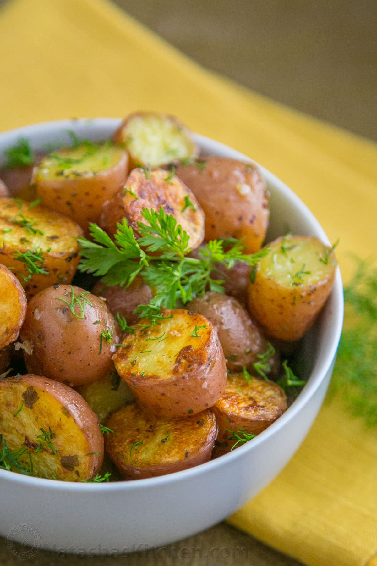 Oven Roasted Baby Red Potatoes