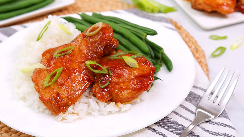 Korean Inspired Chicken