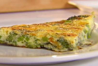 Broccoli and Cheddar Frittata