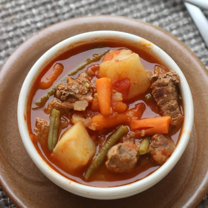 Quick and Easy Crock pot Beef Stew Recipe