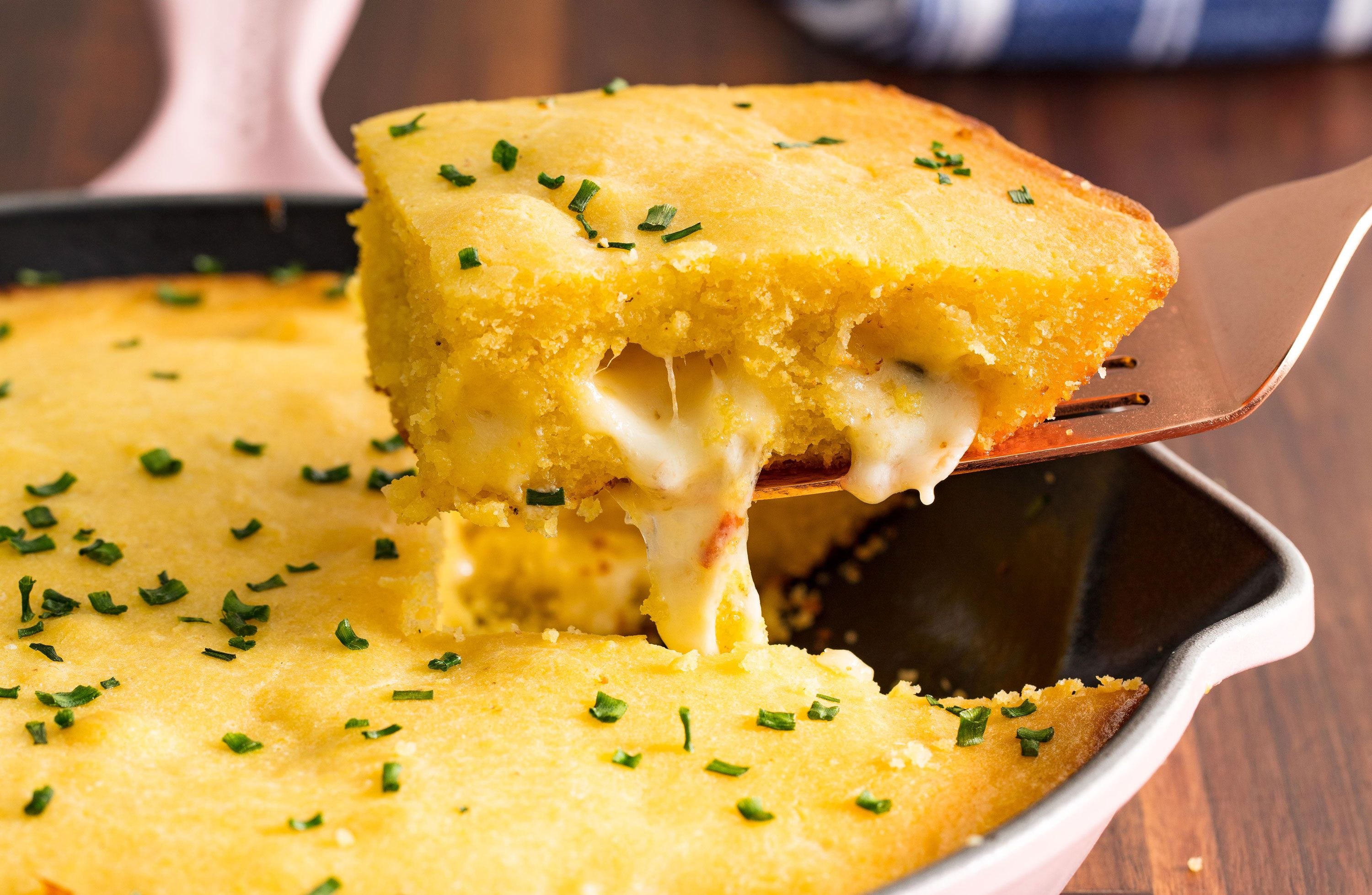 Cheese-Stuffed Cornbread