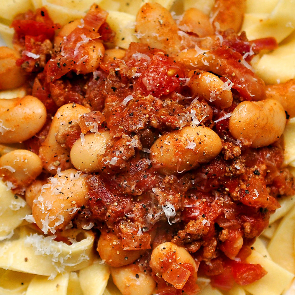 Chorizo and White Bean Ragu