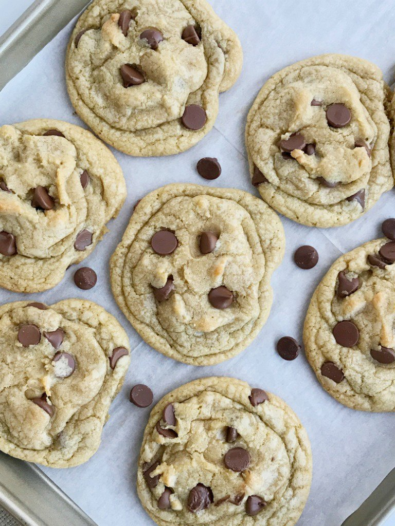 {seriously amazing!} Perfect Chocolate Chip Cookies