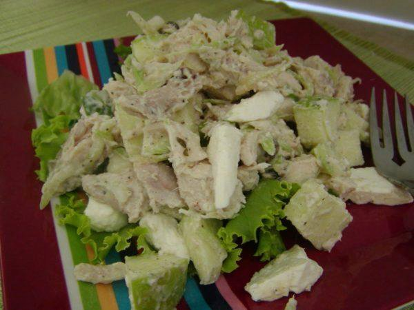 Chicken Salad with Apple