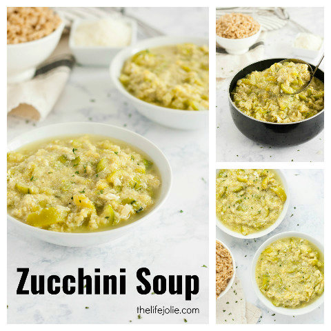 """Rosie's Famous Zucchini """"Soup"""""""