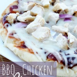 BBQ Chicken Pizza in 10 Minutes