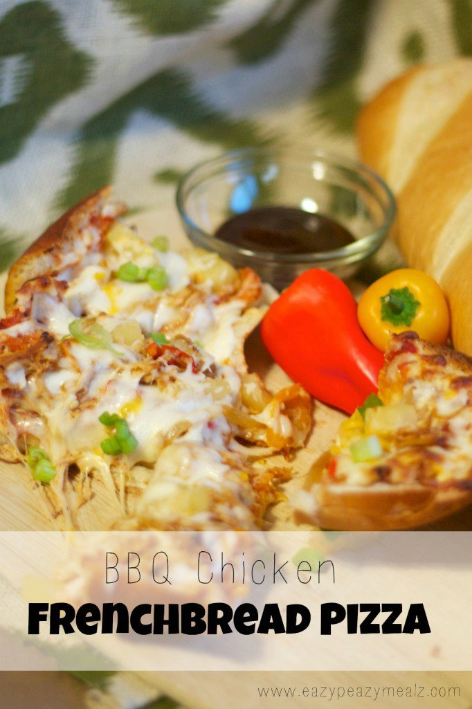 BBQ Chicken French Bread Pizza