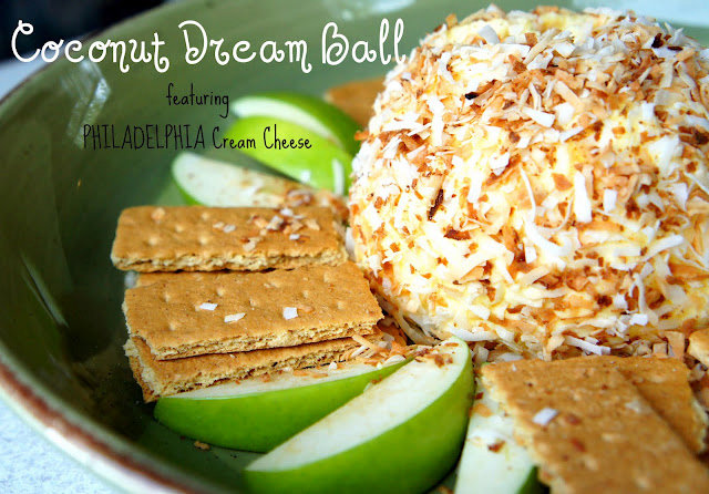 Coconut Cream Cheese Ball