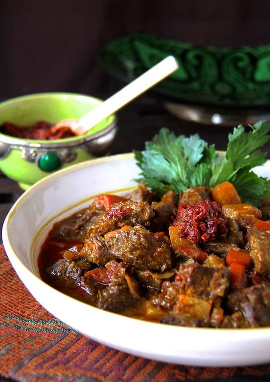 Mom's Moroccan Beef Stew