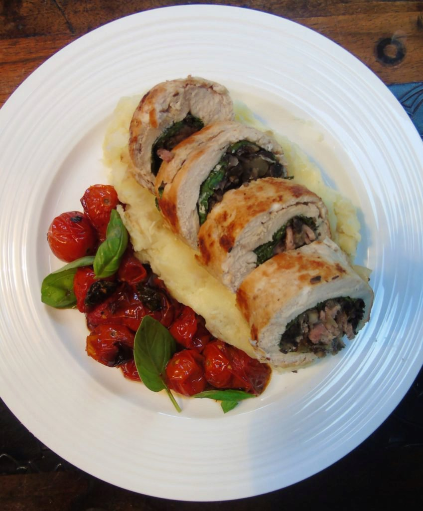 Seriously Simple Stuffed Chicken Ballotine