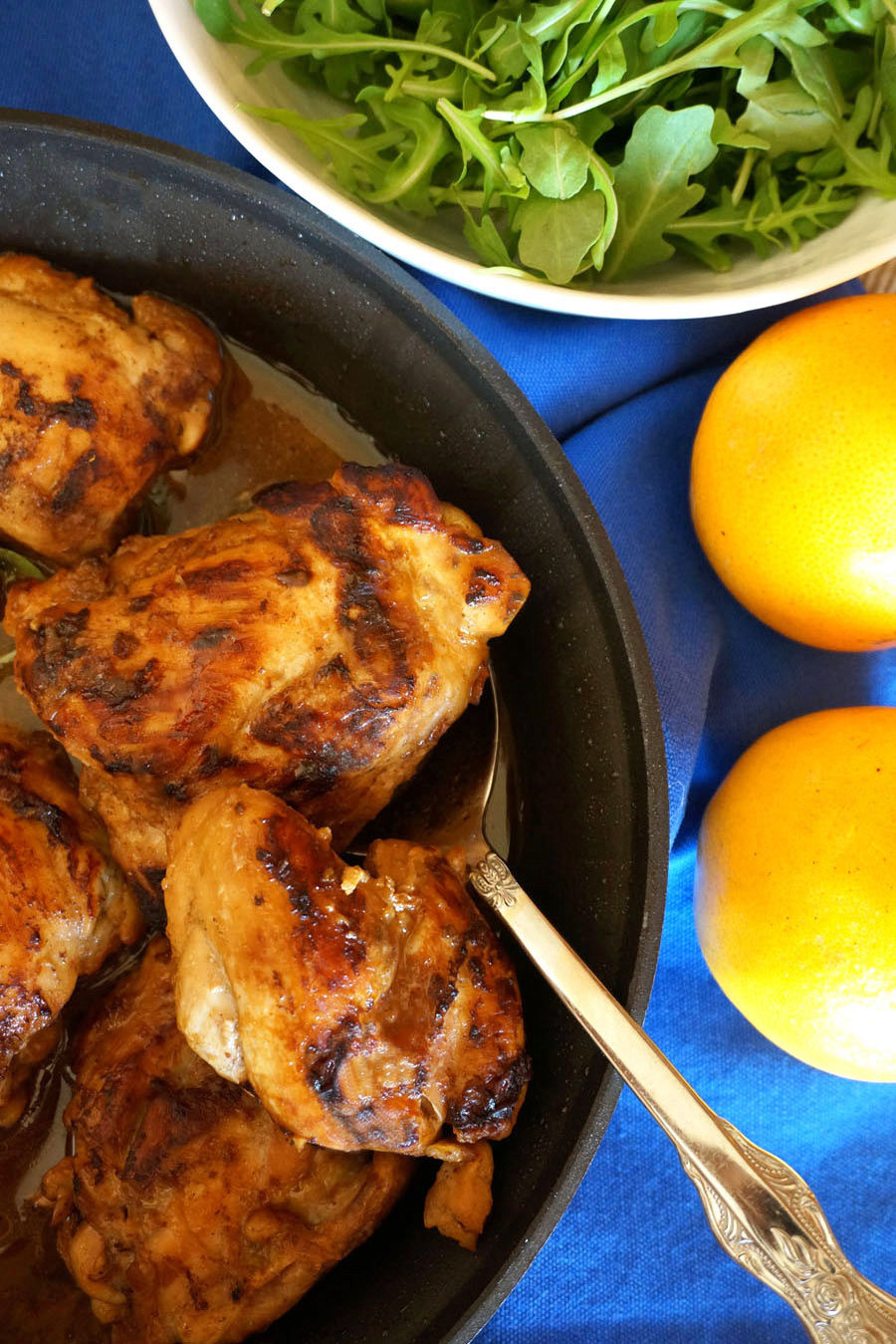 Middle Eastern Glazed Chicken