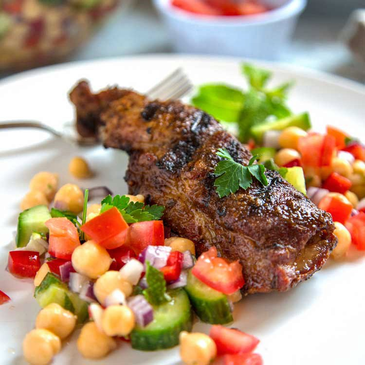 Grilled Country Style Ribs