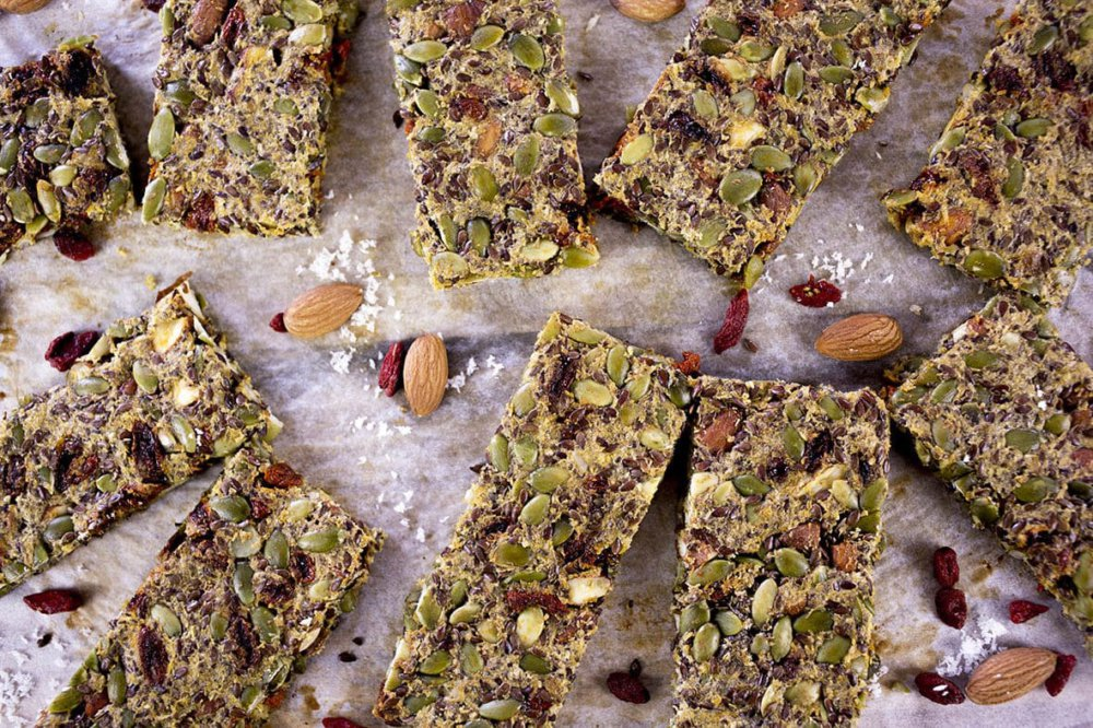 Paleo Nut Bars with Goji Berries