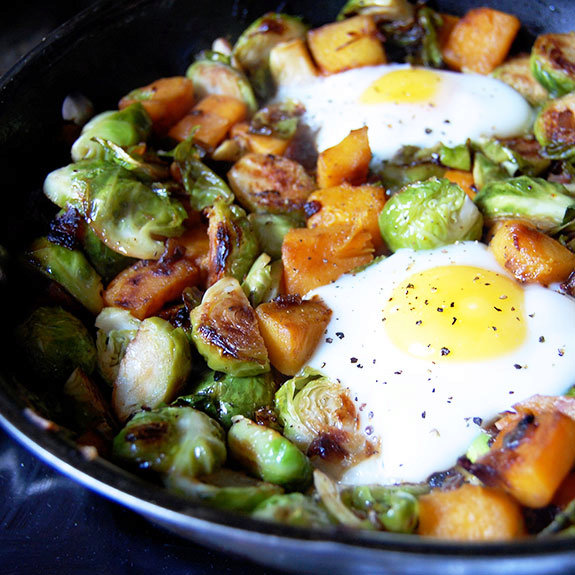 Down-Home Brussels Sprout Hash