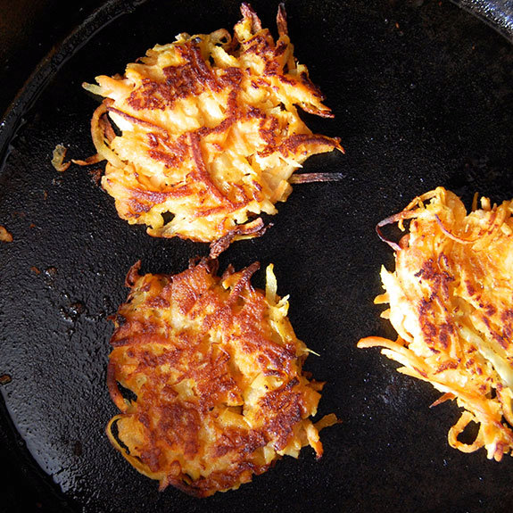 Wholesome Sweet Potato Latkes