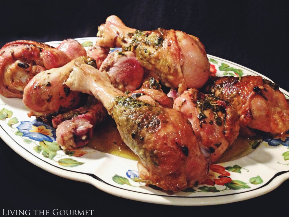 Stuffed Chicken Legs