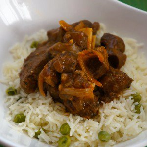 Goat in Creole Sauce