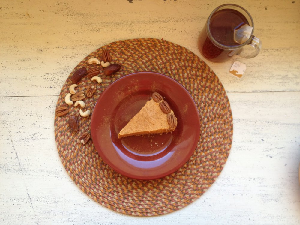 No-Bake Gluten Free Pumpkin Pie