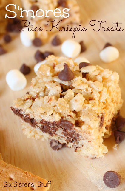 S'mores Rice Krispie Treats Recipe