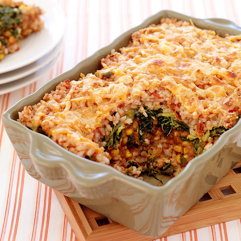 Mexican-Style Brown Rice Casserole
