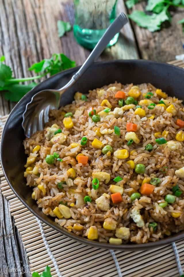 Perfect Chinese Fried Rice + Video