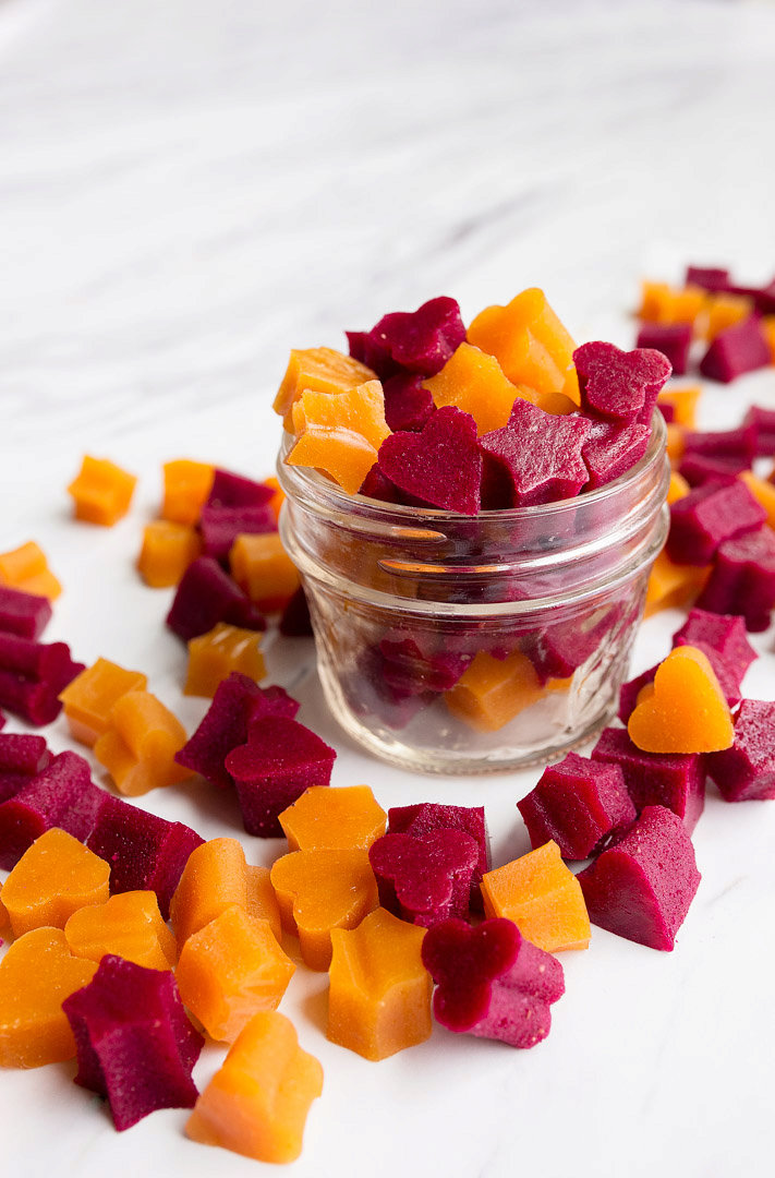 Healthy Homemade Fruit Snacks (with veggies!)