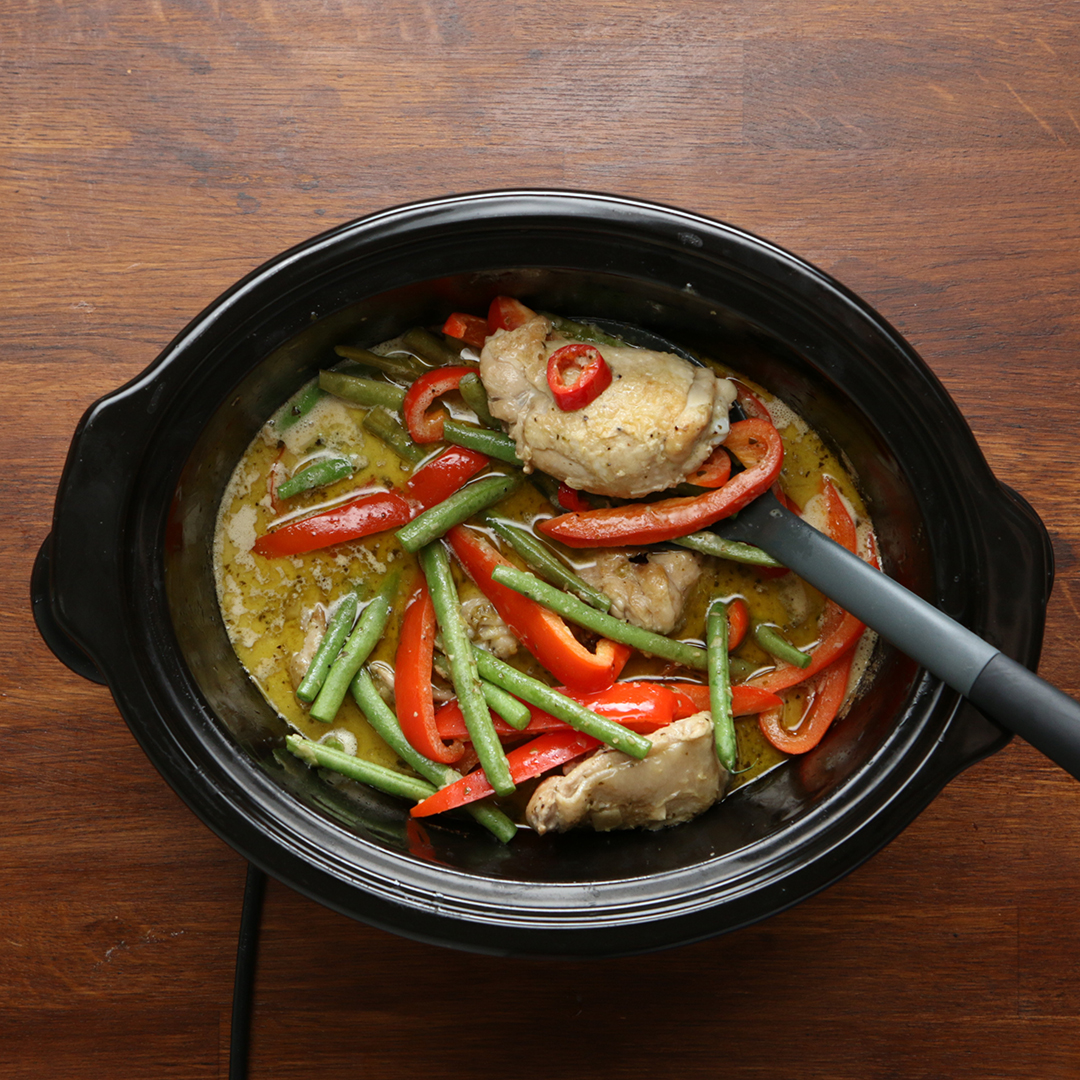 Slow-Cooker Thai Green Curry Recipe by Tasty