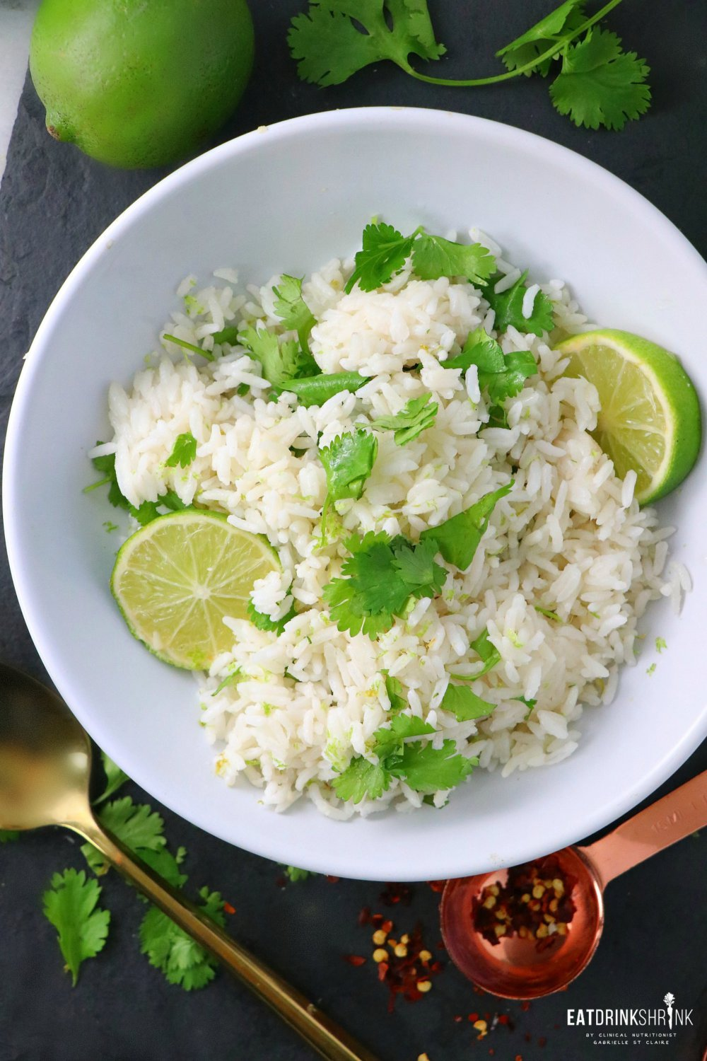 Vegan Cilantro Lime Rice