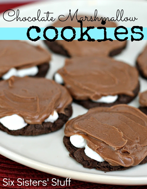 Chocolate Marshmallow Brownie Cookies