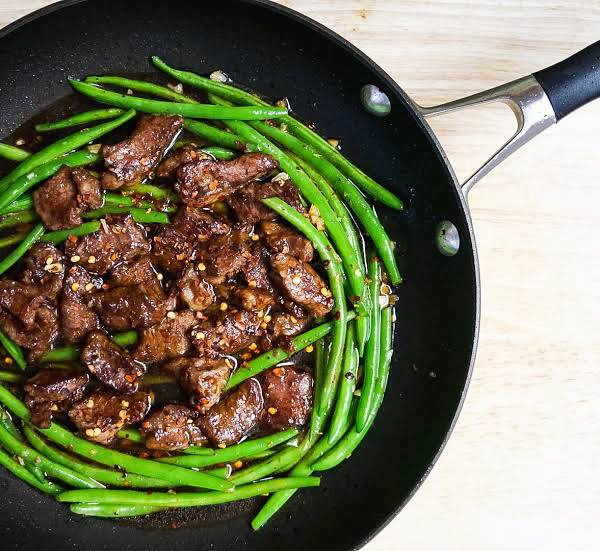 Beef and Green Beans Stir Fry